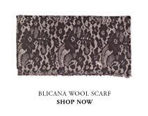 Blicana printed scarf