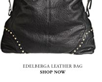 Edelberga leather bag