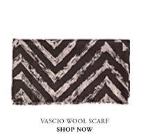 Vascio printed scarf