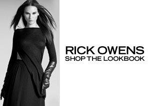 SHOP THE RICK OWENS LOOKBOOK