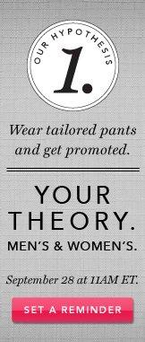 Theory. Set A Reminder.
