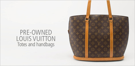 PRE-OWNED LOUIS VUITTON TOTES AND HANDBAGS
