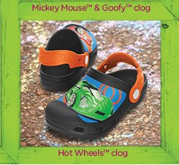 Hot Wheels clog