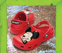 Mickey Mouse & Goofy clog