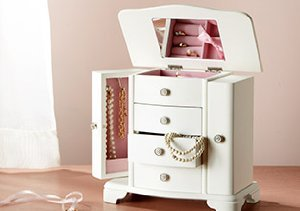 Jewelry Storage: Armoires, Boxes & More