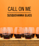 Call On Me. Susquehanna Glass.