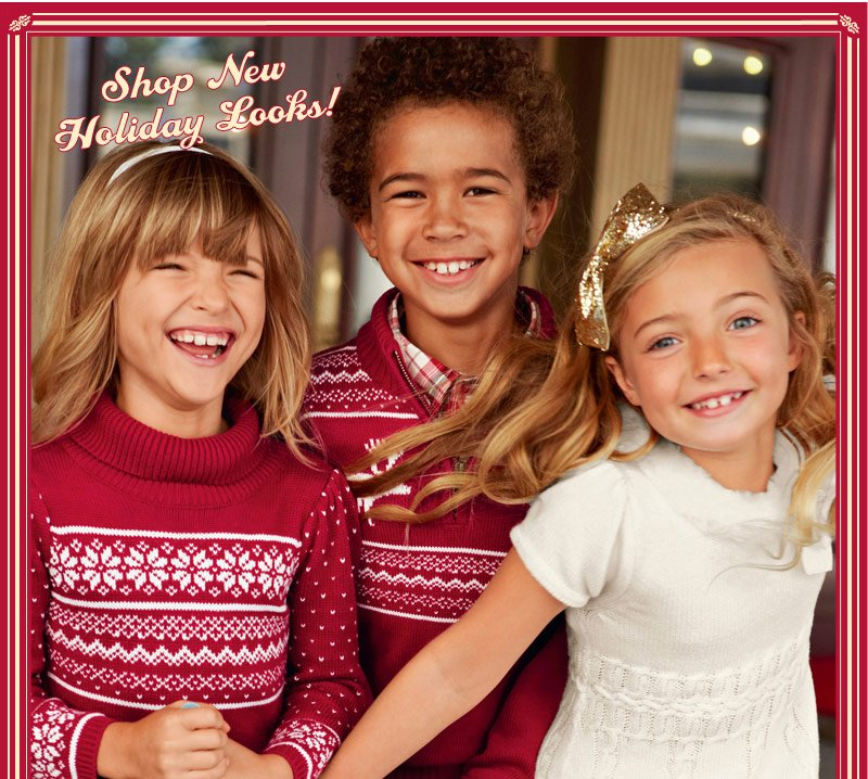 Shop New Holiday Looks!