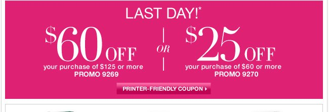 Last day to use this $60 off coupon... Go now