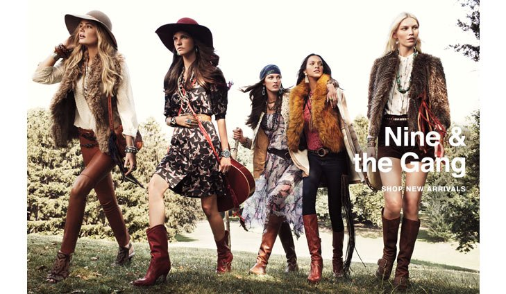 Click here to shop Nine West Vintage America Collection New Arrivals
