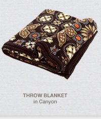 Throw Blanket in Canyon