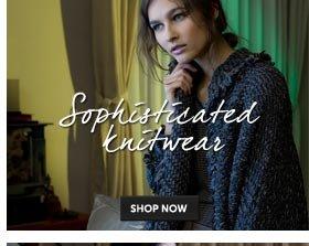 Sophisticated knitwear