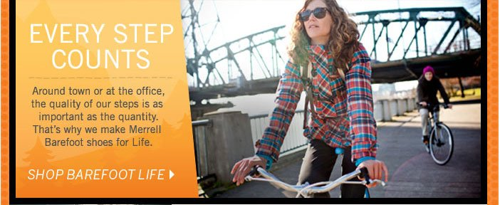 Every Step Counts - Shop Barefoot Life