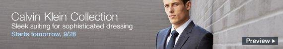 Calvin Klein on sale tomorrow, preview now