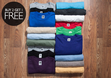 Shop The Basics: Crew Neck Shop