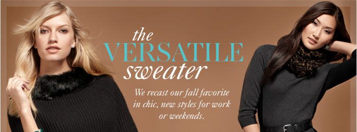 THE VERSATILE SWEATER