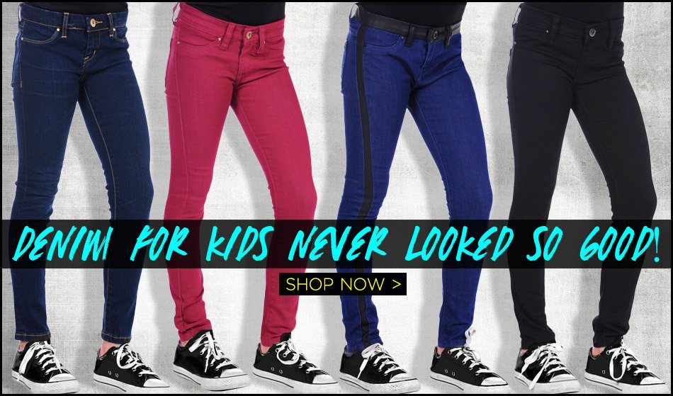 Denim For Kids Never Looked So Good - Shop Now!