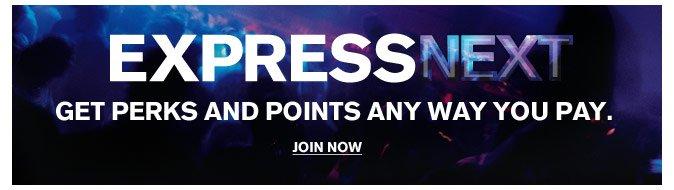 Join Express NEXT