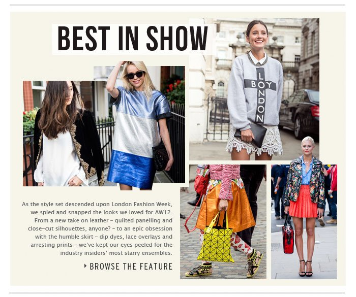 BEST IN SHOW - Browse the Feature