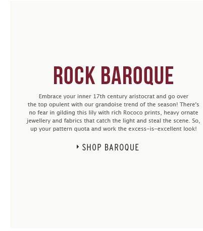 ROCK BAROQUE - Shop Baroque