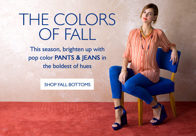 Fall Color Bottoms