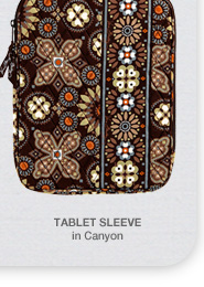 Tablet Sleeve in Canyon