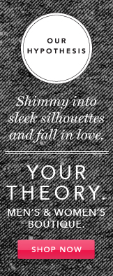 Your Theory. Shop Now.