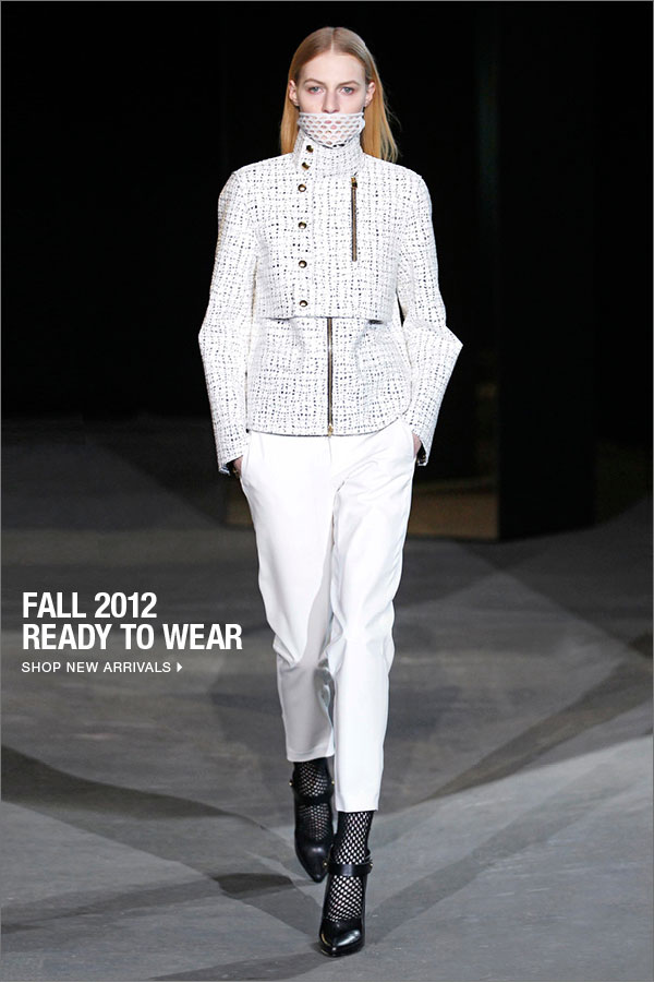 FALL 2012 READY TO WEAR Shop New Arrivals