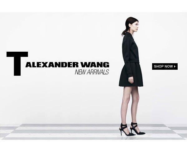 T ALEXANDER WANG NEW ARRIVALS Shop Now