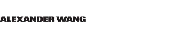ALEXANDER WANG logo