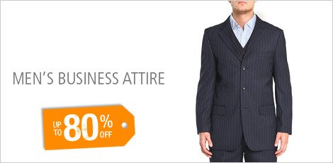 MEN'S BUSINESS ATTIRE