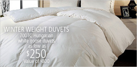 WINTER WEIGHT DUVETS