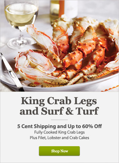 King Crab Legs and Surf & Turf - Shop Now