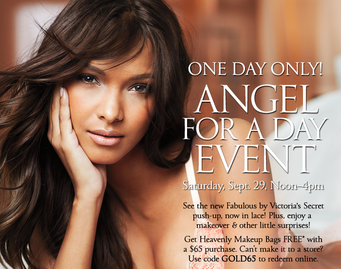 One Day Only! Angel for a Day Event