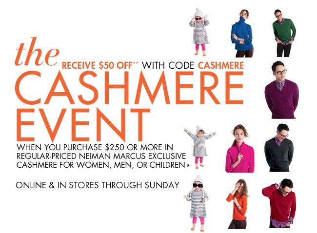 cashmere event