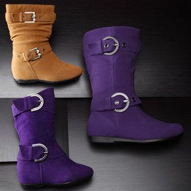 Buckle Up: Girls' Boots
