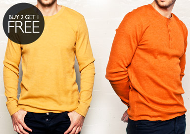 Shop Henleys & Thermals by Massive