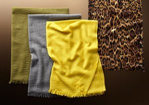 Transitional Fall Scarves from Sophia Cashmere