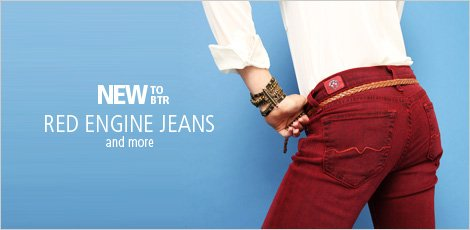 Red Engine Jeans and more