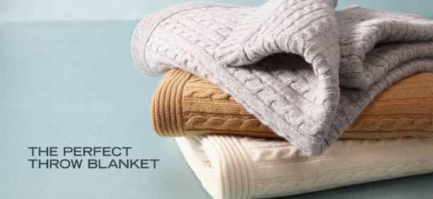 THE PERFECT THROW BLANKET, Event Ends October 3, 9:00 AM PT >