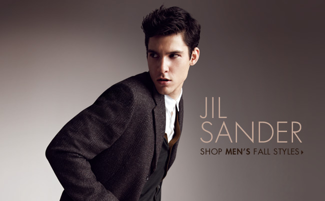Jil Sander Shop Men's Fall Styles
