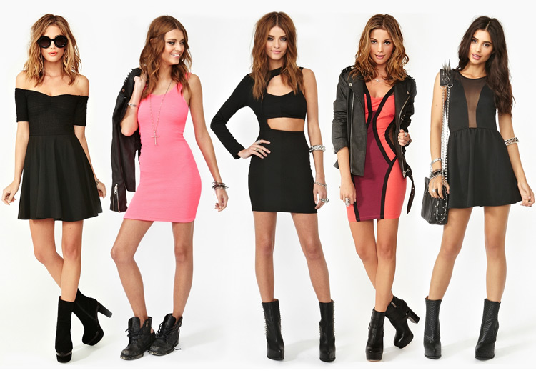 Fierce Fitted Dresses