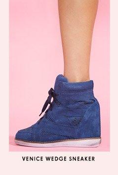 Venice Wedge Sneaker