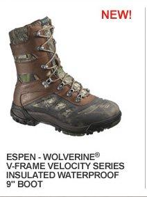 "Espen Wolverine V-Frame Velocity Series Insulated Waterproof 9"" Boot"