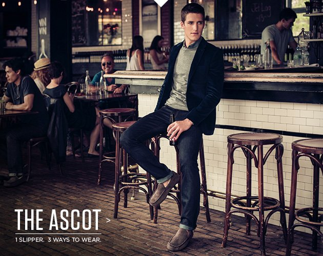 The Ascot > 1 Slipper. 3 Ways to wear