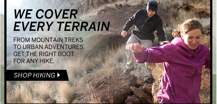 We Cover Every Terrain