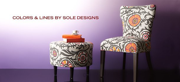 COLORS & LINES BY SOLE DESIGNS, Event Ends October 3, 9:00 AM PT >