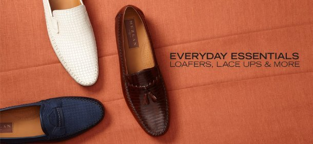 EVERYDAY ESSENTIALS: LOAFERS, LACE UPS & MORE