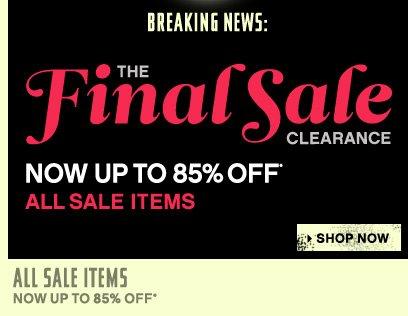 Final Sale Clearance