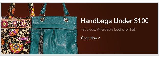 Shop Handbags Under $100