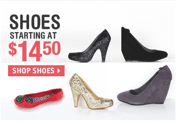 SHOES STARTING AT 